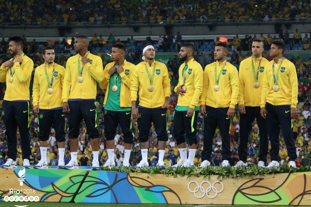 Le Brésil champion olympique