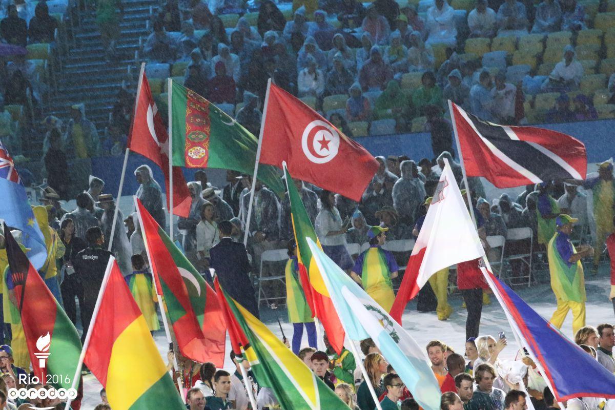 Le drapeau Tunisien a flotté  de nouveau au Brésil