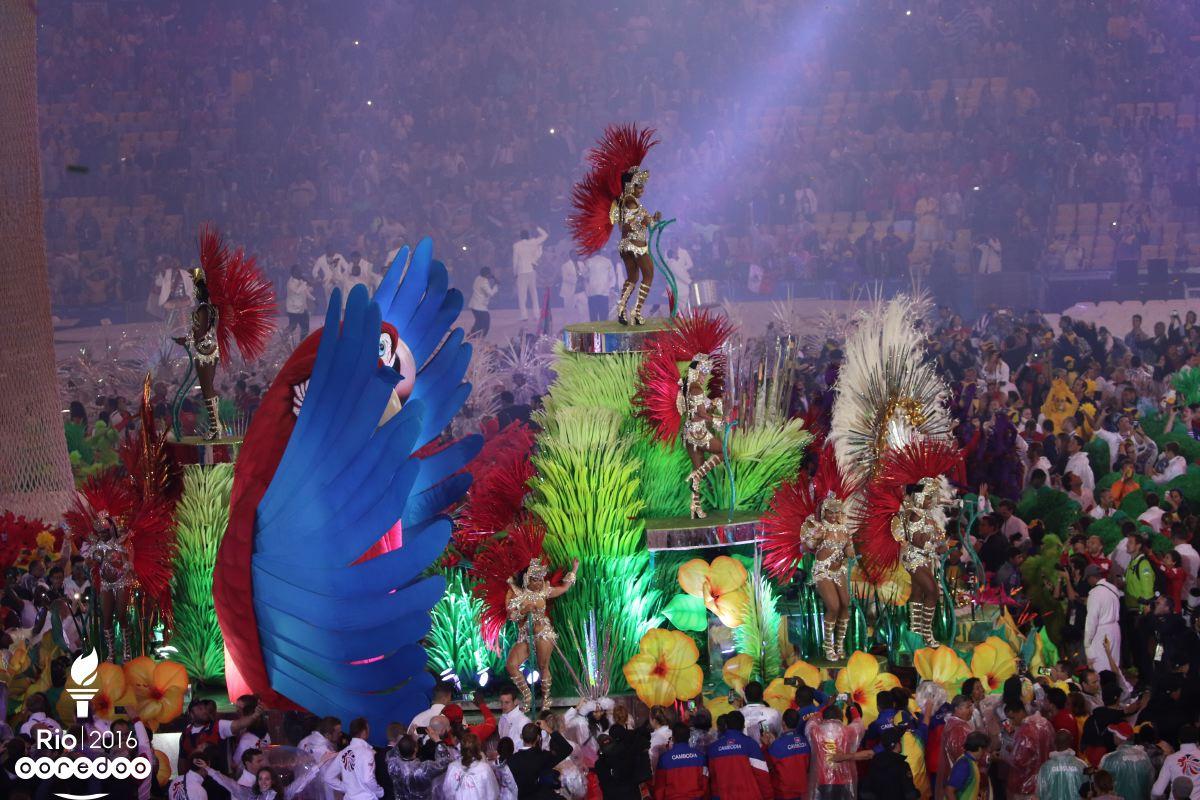 Des airs de samba au maracana