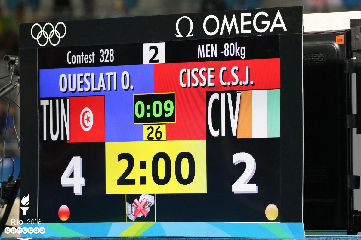 La victoire d'Oussama Oueslati