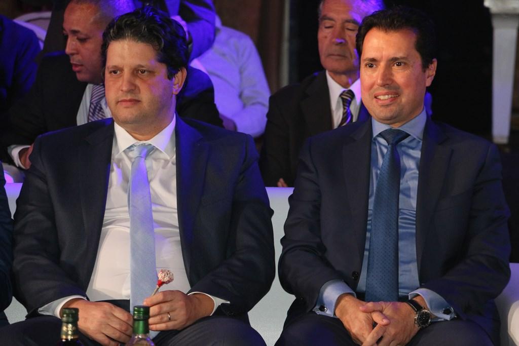 Omar Behi, ministre du Commerce et Slim Feriani, Ministre de l'Industrie et des PME