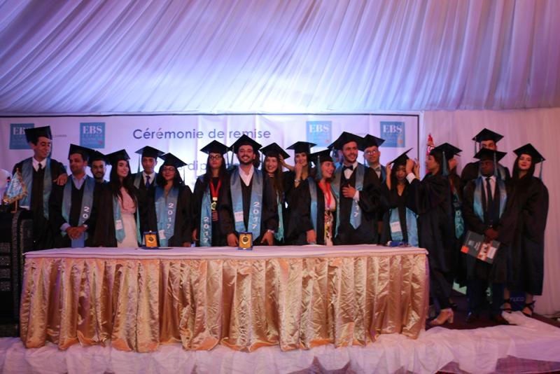 Les diplômés de l'EBS