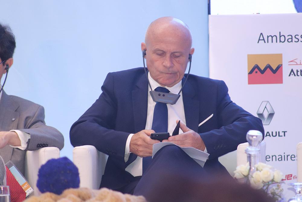 L'ambassadeur de France en Tunisie, Olivier Poivre d'Arvor