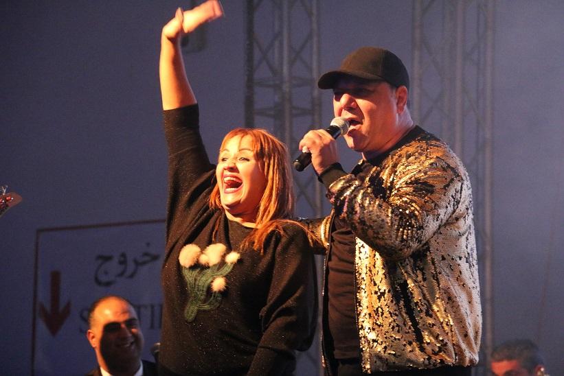 Walid Tounsi et Hanen Chograni