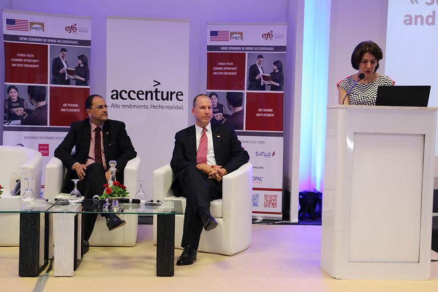 Allocution de Mme Lamia Chaffai Sghaier, Directrice générale de EFE Tunisie