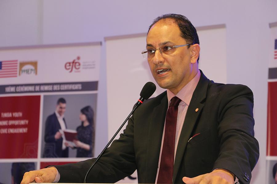 Allocution de Slim Khalbous, Ministre de l'Enseignement Supérieur et de la Recherche Scientifique