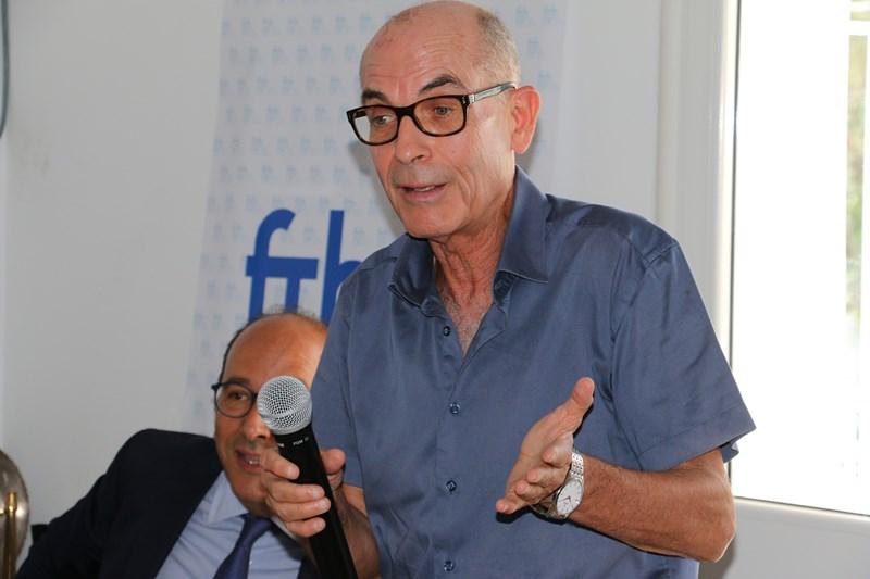 Hichem Driss,Président du bureau régional de la FTH à Sousse