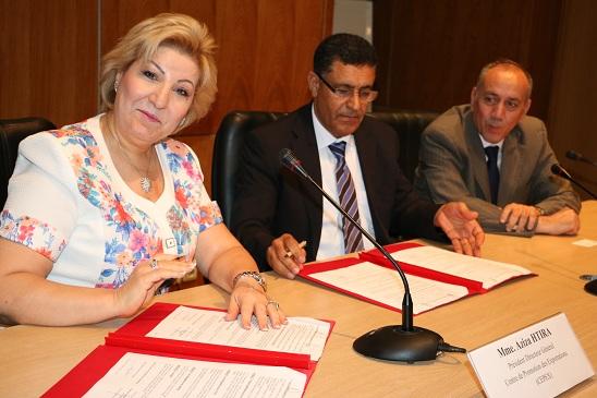 Aziza Htira et Ali Ben Belgacem