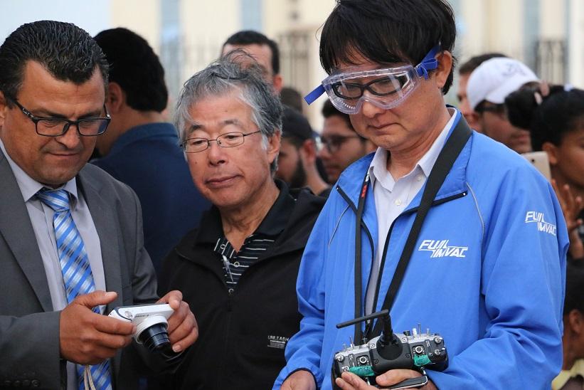 le Groupe TELNET a signé un accord avec le groupe japonais FUJI IMVAC, spécialisé dans la fabrication des drones,