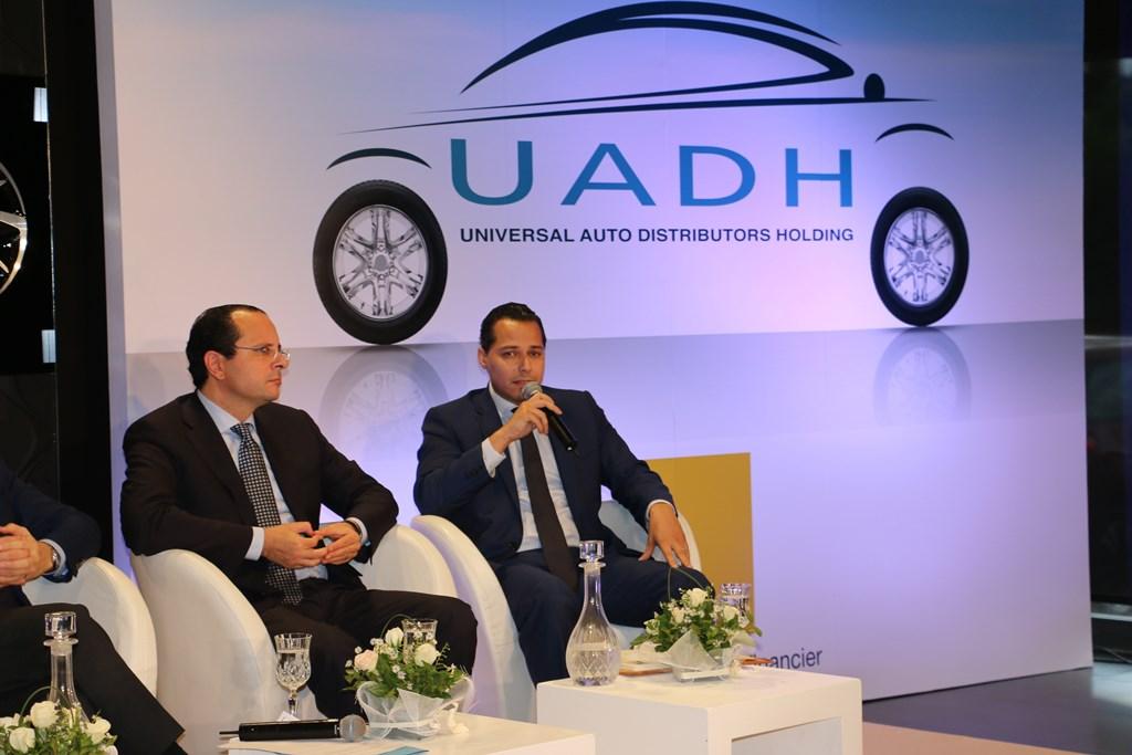 Souheil Skander, directeur général Maghreb Corportate avec Walid Loukil, DGA du Groupe Loukil