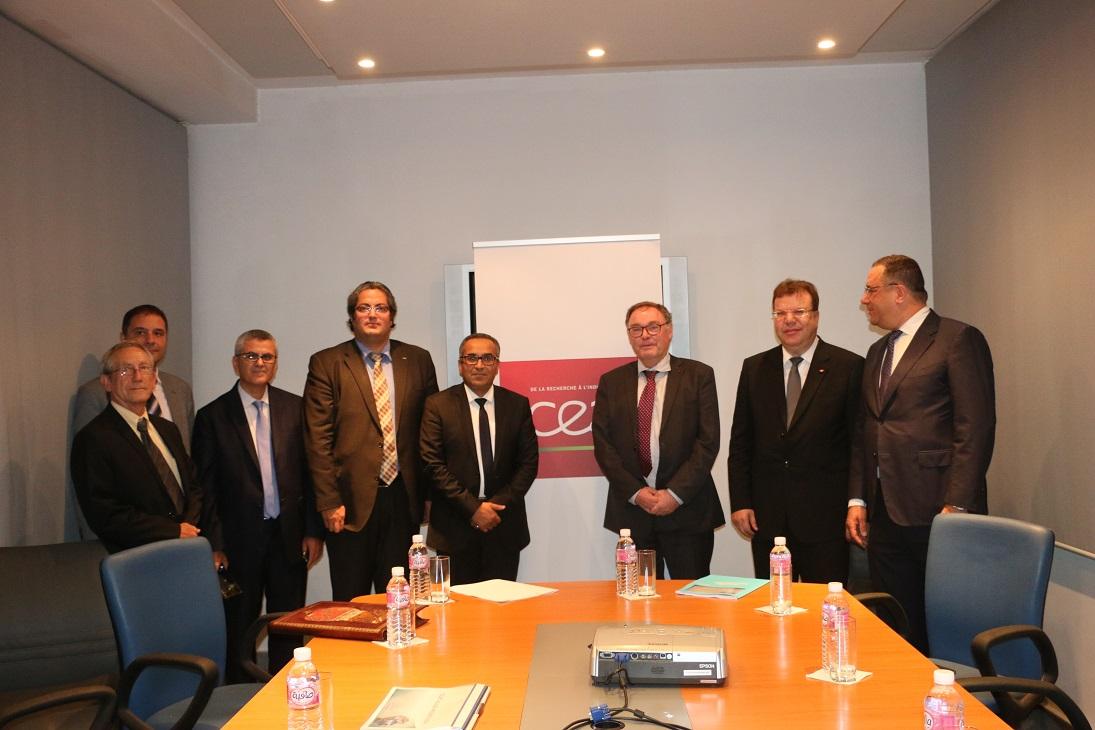 Après ses 9 centres répartis dans toute la France, le CEA a décidé de mettre en place sa première représentation régionale opérationnelle pour les Pays de la Méditerranée, du Moyen-Orient et de l'Afrique à Tunis