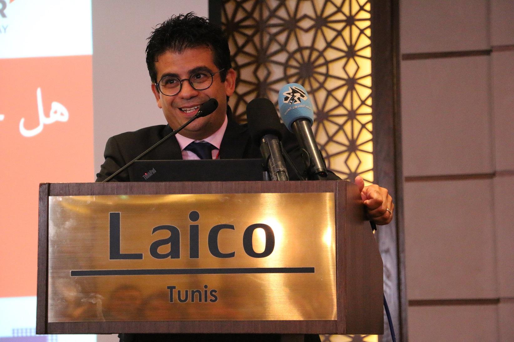 Youssef Meddeb, directeur général et fondateur de l'institut