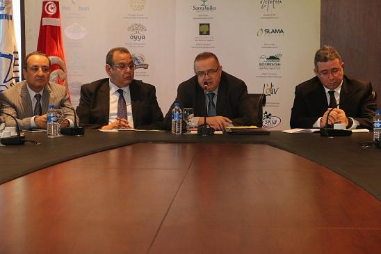 Aref Belkhiria, Samir Majoul, Abdessalem Loued et Chiheb Slama