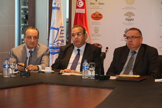 Aref Belkhiria, Samir Majoul et Abdessalem Loued