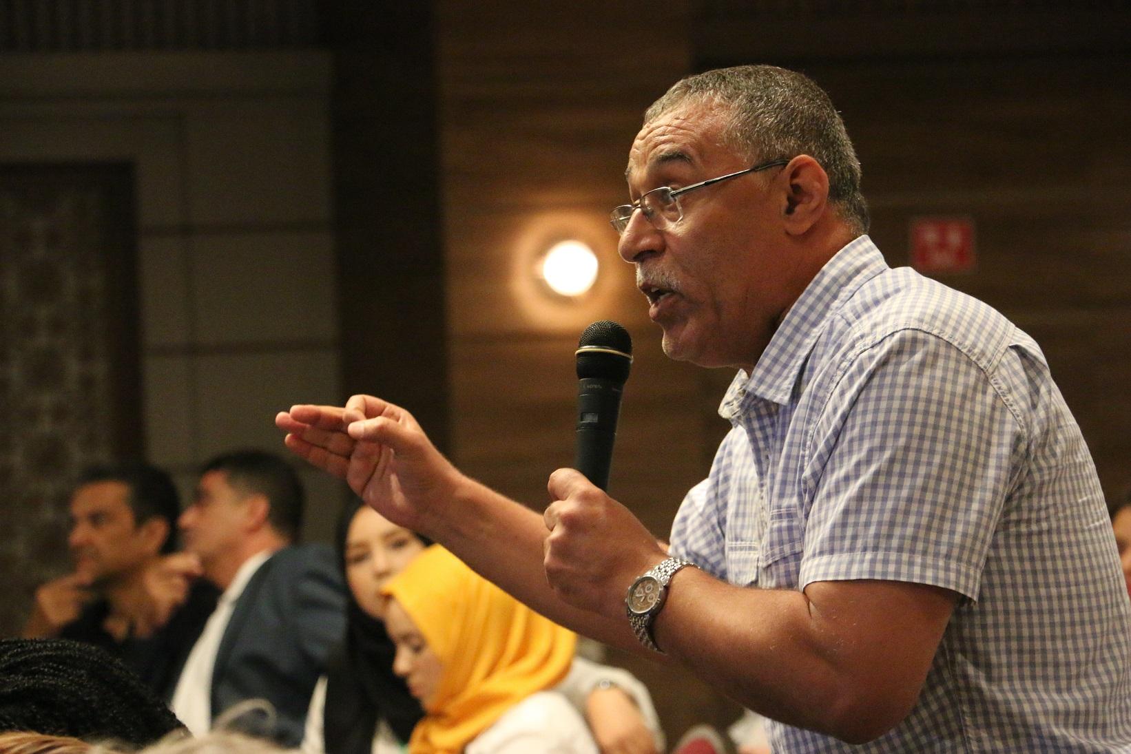 Abdelhamid Jelassi,dirigeant de premier plan au sein d'Ennahdha