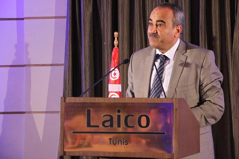 Mr. Ridha Chalghoum, ministre des Finances