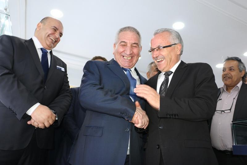 Abderrahmane Benhamadi, Président du Conseil d'Administration de Condor Electronics et Abdellatif Missaoui, Gouverneur de Ben Arous