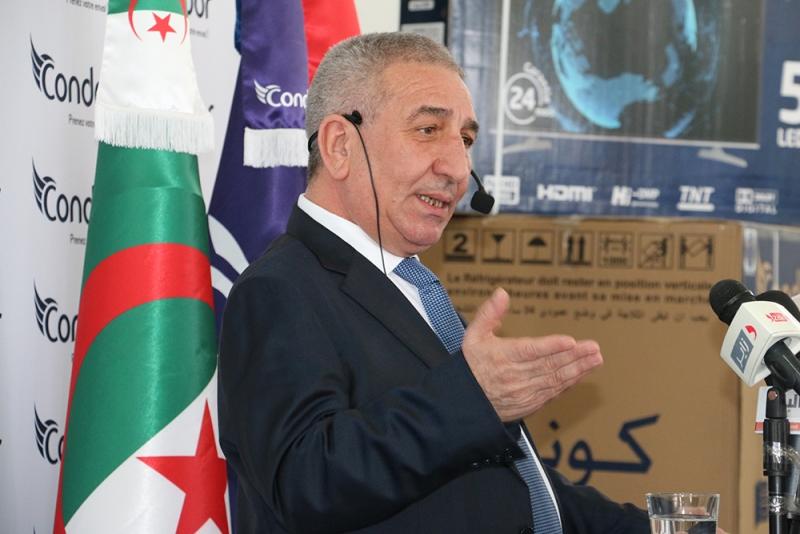 Abderrahmane Benhamadi, Président du Conseil d'Administration de Condor Electronics