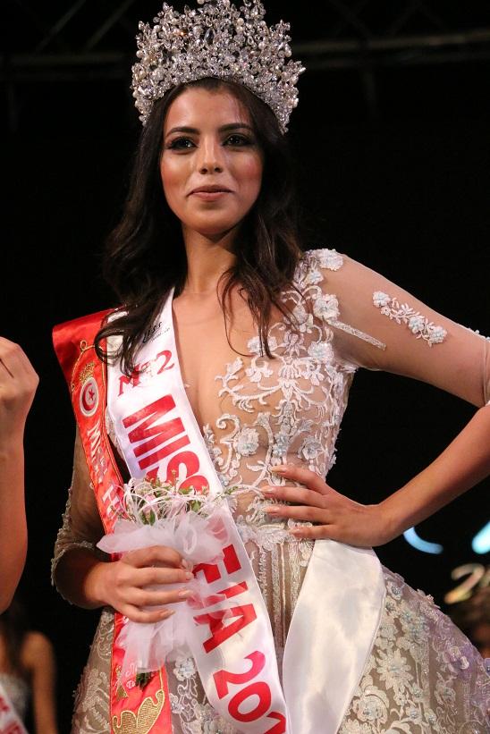 Haifa Ghedir Miss Béja élue miss Tunisie 2017