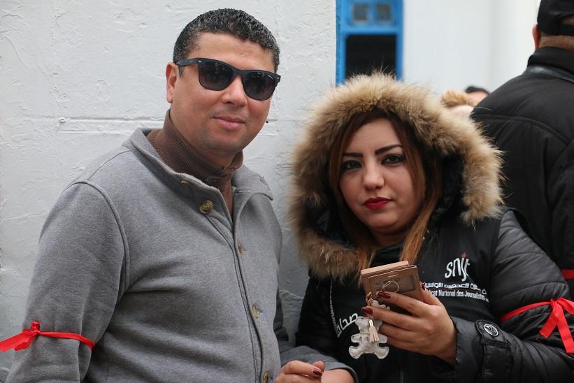Chokri Chihi et Sana Mejri