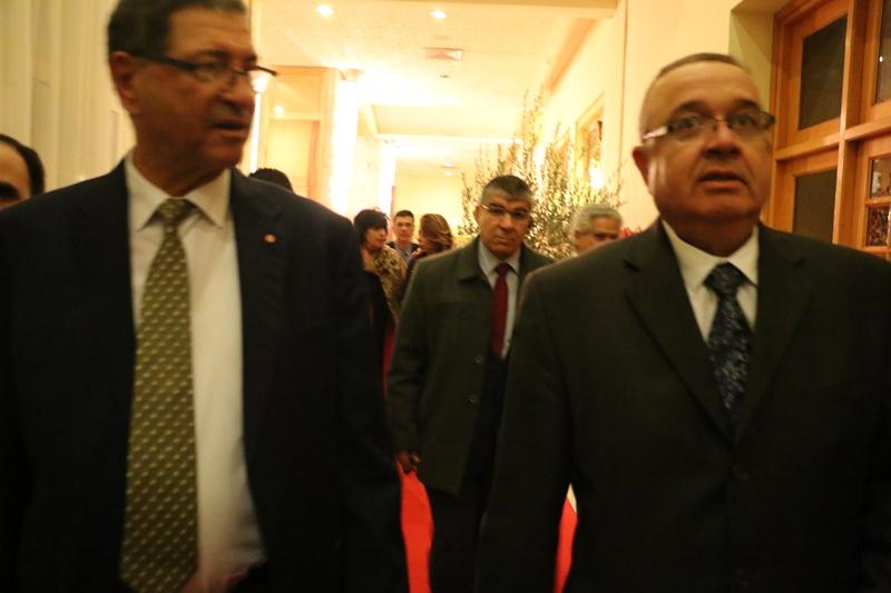 Habib Essid et Abdessalem Loued, Président de la Chambre Syndicale des Exportateurs d'Huile d'Olive