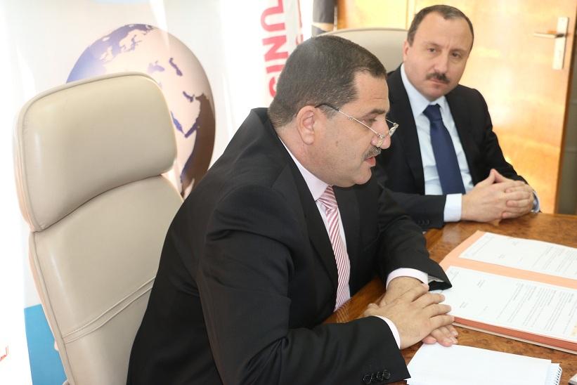 Elyes Mnakbi et  Bassem Loukil