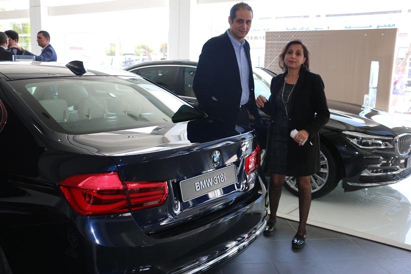 relevant  Les représentants du groupe Ben Jemaa Motors concessionnaire de la marque BMW en Tunisie