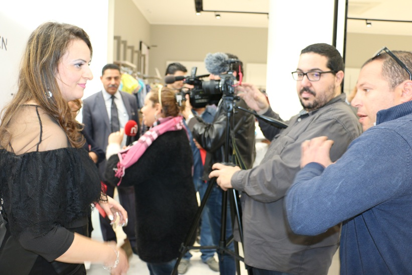 L'ouverture s'est faite dans une ambiance festive en présence  de nombreux journalistes