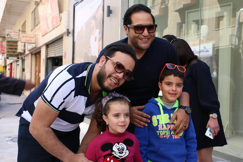 Amine Gara et Tarek Baalouche ont fait le bonheur des petits
