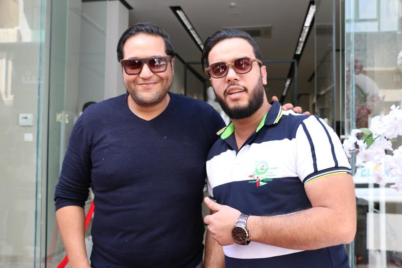 Amine Gara et Tarek Baalouche