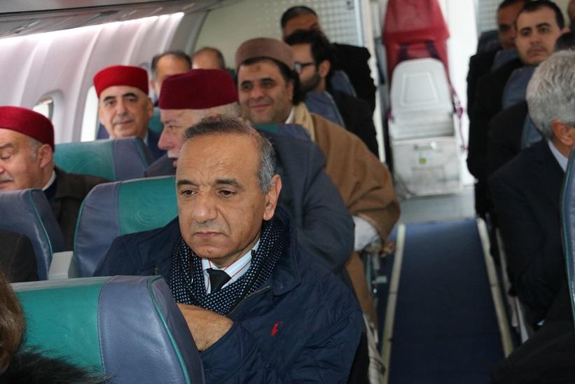 Une très forte délégation d'hôteliers s'est déplacée par avion à Tozeur
