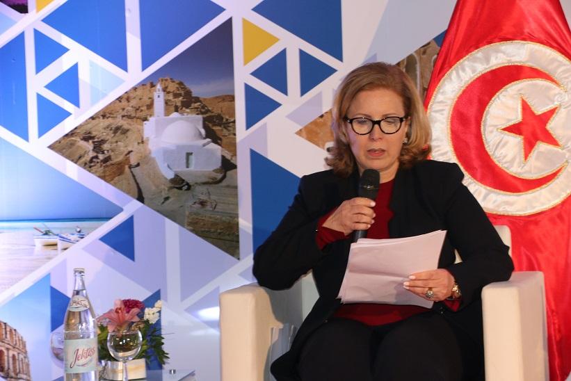 La ministre du tourisme Selma Elloumi Rekik