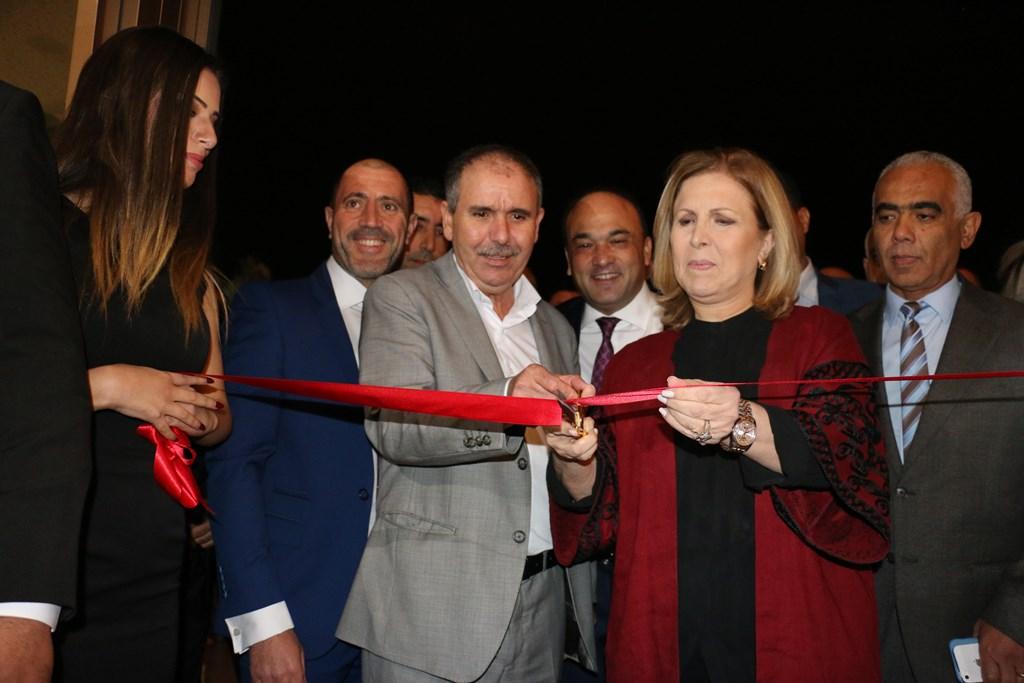 Selma Elloumi Rekik, ministre du tourisme et de l'artisanat inaugure officiellement Tunisia Mall 2 accompagnée de Noureddine Taboubi, secrétaire général de l'UGTT