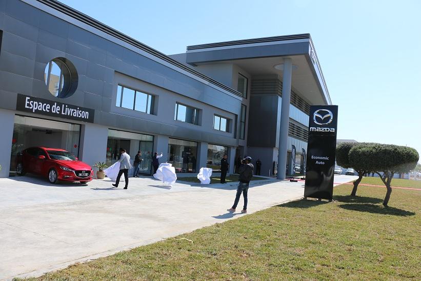 Nouveau site Mazda à Ben Arous