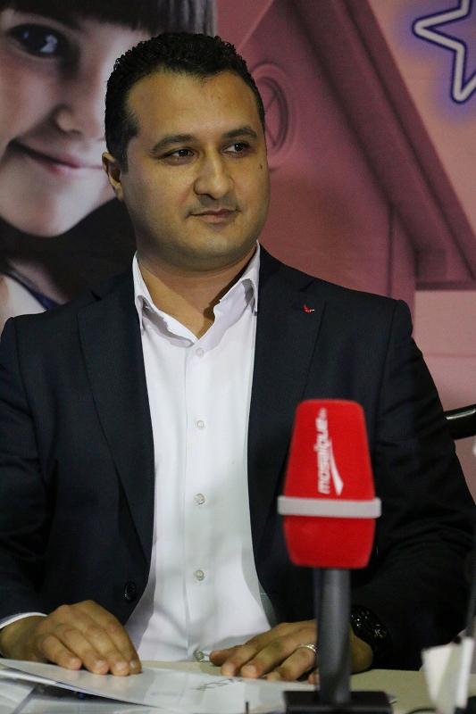 Seifeddine Chibani, Directeur de l'association La Rose de l'Espoir