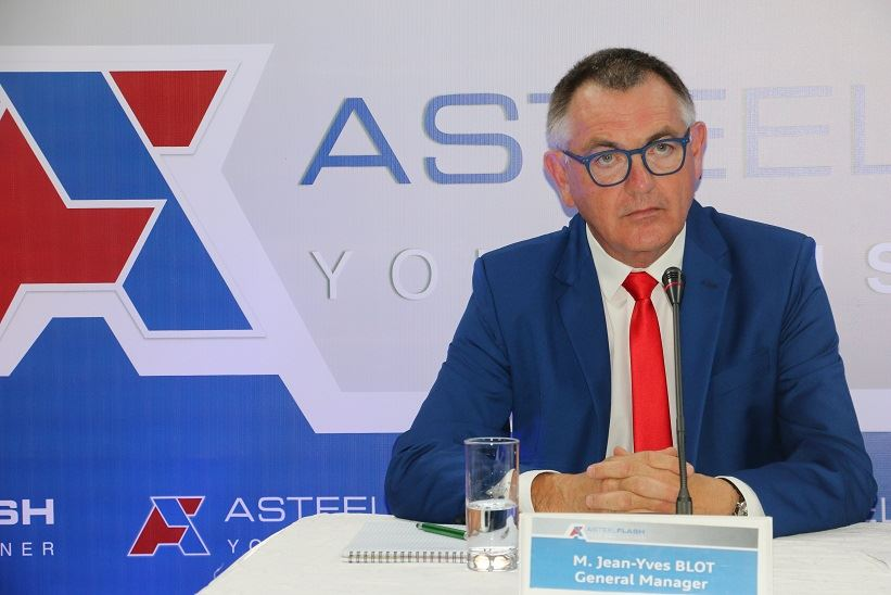 Le General Manager d'Asteelflash  en Tunisie Jean-Ives Blot