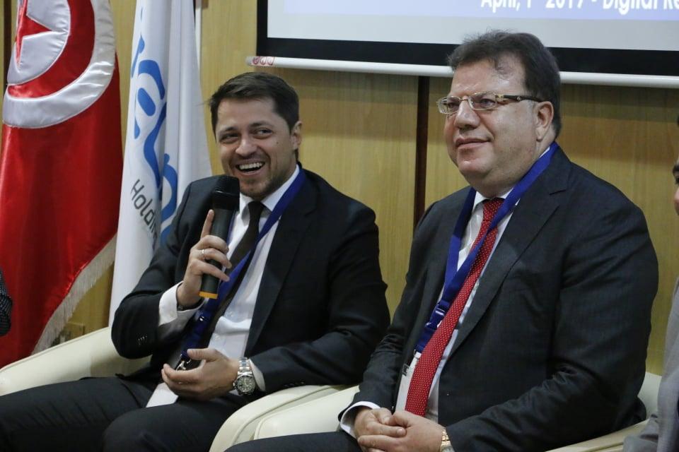 Mohamed FRIKHA, CEO du groupe TELNET et Alexander V. SERKIN, CEO de GK Launch Services