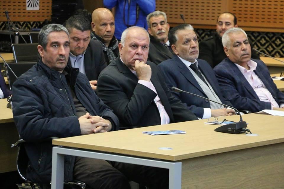 De nombreux jouranalistes arabes au rendez-vous
