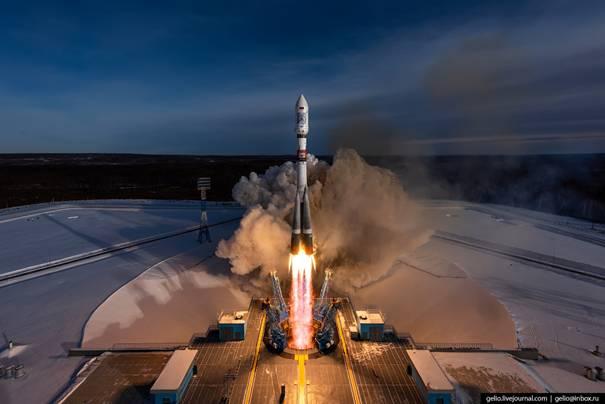 Démonstration du lancement du 1er satellite tunisien « Challenge ONE »par la fusée russe « SOYUZ-2 »