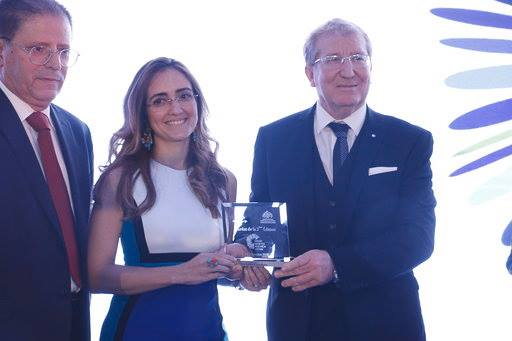 Dr. Leïla Saddem récompensée