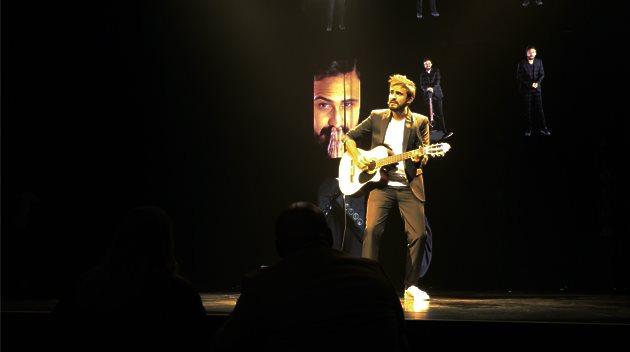 Mohamed Baraket, a présenté un show distingué avec sa guitare