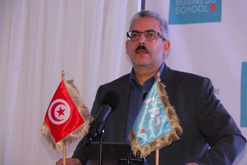 Mr Aberraouf Najar, Président de l'EBS
