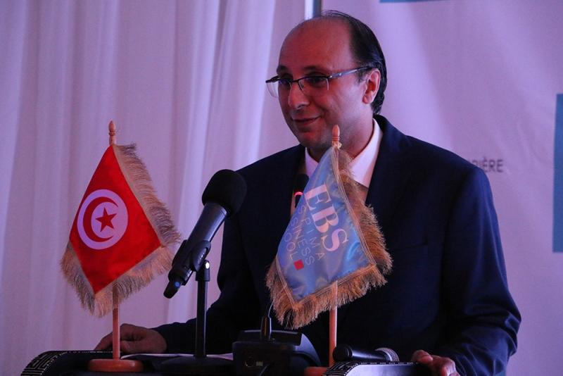Mr Melik Hichri, Directeur de l'EBS