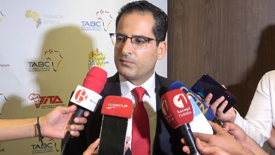 Le Ministre des Affaires étrangères  Noureddine Erray.