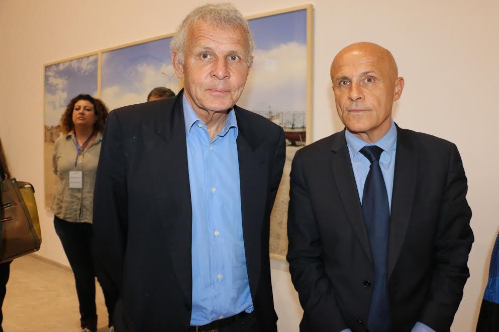Olivier et Patrick Poivre d'Arvor