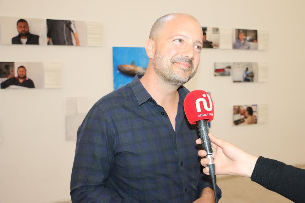 L'artiste suisse Séverin Guelpa