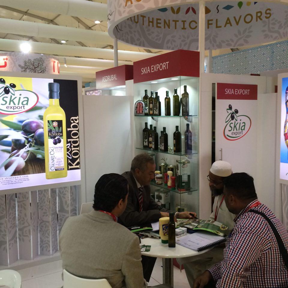 Une grande promotion de l'huile d'olive tunisienne lors de ce salon