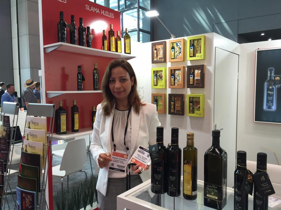 L huile d olive tunisienne vedette du salon fancy food for Salon du fast food