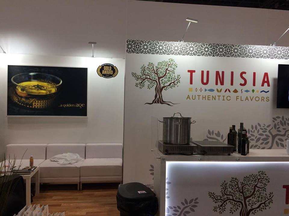 Stand Tunisien au Fancy Food Show de New York.