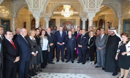 Le Chef de l'Etat reçoit les chefs de délégations au « Futurallia 2018 »